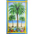Luau Party Mural Decoration 3 Assorted Designs