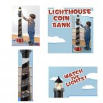 Lighthouse Coin Bank - Money Bank with Lights and Sounds