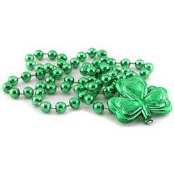 St. Patrick's Day Beads - Shamrock Necklace