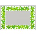 St. Patrick's Window Border  - Clover 2pk