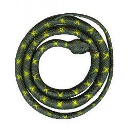 Rubber 5 Feet Grey Prop Halloween Decoration Snake