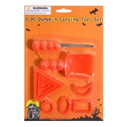 Pumpkin Carving Tool Set - 9 Pieces