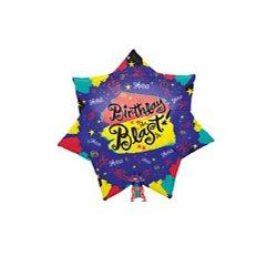 """Birthday Blast 21"""" Supershape Balloon"""