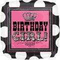 "Birthday Girl Polka Dot 18"" Mylar Balloon"