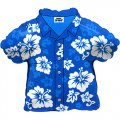 "24""in. Tropical Blue Shirt Mylar Balloon - Hawaiian Shirt"