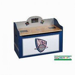 New Jersey Nets Kid's Storage Toy Box