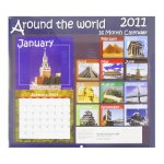 Around the World 2011 Calendar - 16 Month Calendar