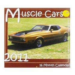 2011 Classic American Muscle Cars Calendar - 16 Month Calendar