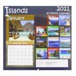 Islands 2011 Calendar - 16 Month Calendar