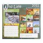 Wild Life 2011 Calendar - 16 Month Calendar