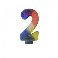 Numeral Candle - #2