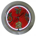 Ed Hardy Dragons Tattoo Neon Wall Clock