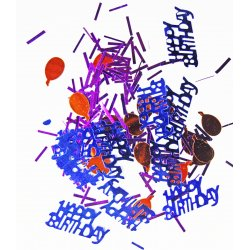 Happy Birthday Party Confetti .5oz.
