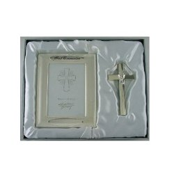My First Communion Picture Frame Set w/ Cross