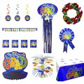 Graduation Party Decoration Mega Set - 9pc