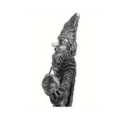 Wizard w/ Crystal Ball Decorative Mythical Statue