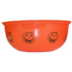 Halloween Candy Bowls - Spider and Pumpkin - 2 Pack