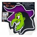 Back Seat Rider Window Clings - Halloween Witch Decor