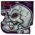 Skeleton Halloween Decoration Decal - Back Seat Rider Cling