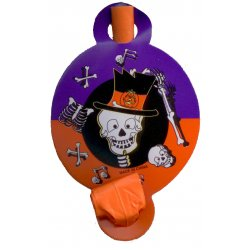 Halloween Skeleton Party Blowouts - Package of 8