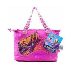 Hannah Montana Pink Slumber Tote Bag And Stay Over Night Sleeping Bag