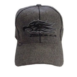 Gray Zcud Usa Fitted Hat
