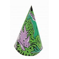 Dinosaur Birthday Party Hats - 8 Cnt.