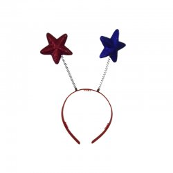 USA Patriotic Star Boppers -4 Pack