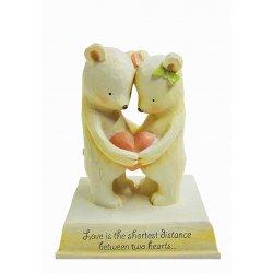 HeartString Teddies - Anniversary Musical Figurine