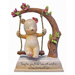 HeartString Teddies - Daughter Musical Figurine