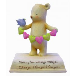HeartString Teddies - Love Musical Figurine