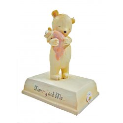 HeartString Teddies - Mommy and Me Musical Figurine