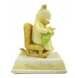 HeartString Teddies - New Baby Musical Figurine