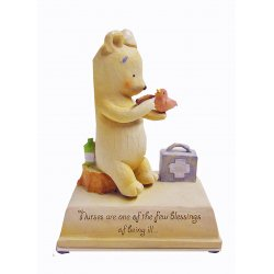 HeartString Teddies - Nurse Musical Figurine