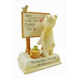 HeartString Teddies - Teacher Musical Figurine