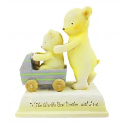 HeartString Teddies - To My Brother Musical Figurine