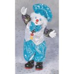Animated Porcelain Musical Clown Doll