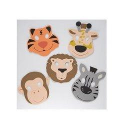 Zoo Animal Masks - 1 dozen