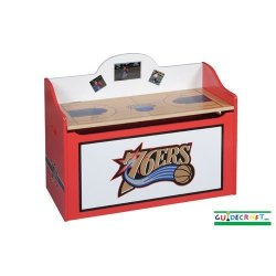 Philadelphia 76'ers Toy Storage Box - Official NBA Licensed Product