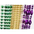 Metallic Bead Necklace Assortment (144 pcs)