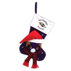 "Baltimore Ravens Baby Mascot Stocking - 22"" NFL Stocking"