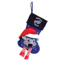 "Buffalo Bills Baby Mascot Stocking - 22"" NFL Stocking"