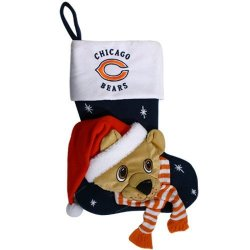"Chicago Bears Baby Mascot Stocking - 22"" NFL Stocking"