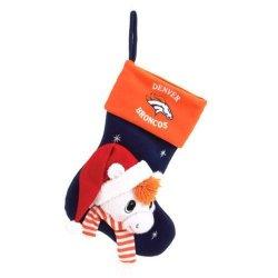 "Denver Broncos Baby Mascot Stocking - 22"" NFL Stocking"