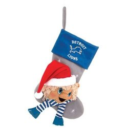"Detroit Lions Baby Mascot Stocking - 22"" NFL Stocking"