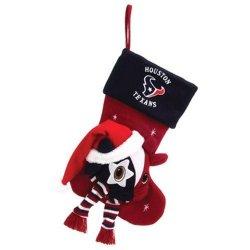 "Houston Texans Baby Mascot Stocking - 22"" NFL Stocking"