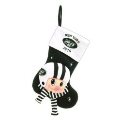"New York Jets Baby Mascot Stocking - 22"" NFL Stocking"