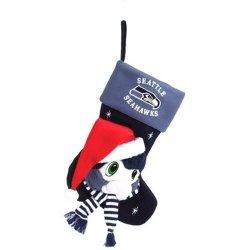 "Seattle Seahawks Baby Mascot Stocking - 22"" NFL Stocking"