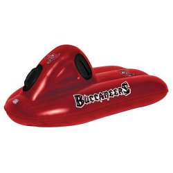 Inflatable Sled - Tampa Bay Buccaneers NFL 2 in 1 Snow and Water Super Sled