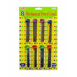 Mechanical Lead Pencil Refills - 8 Pack (0.5mm and 0.7mm)